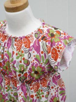 Girls boho tunic sewing pattern.