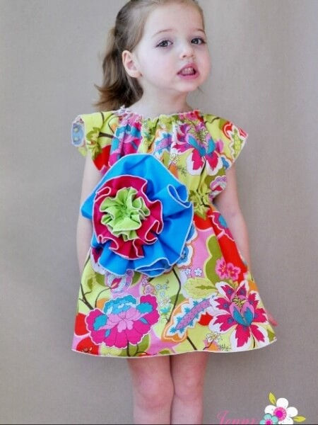 Bohemia Flower Dress PDF Sewing Pattern - Whimsy Couture Sewing ...