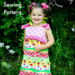 Child's Play dress sewing pattern by Whimsy Couture