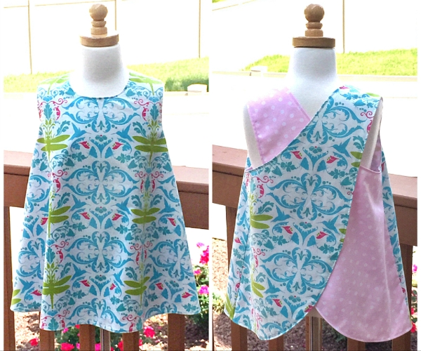 Criss/Cross Tunic Reversible Pinafore Pattern - Whimsy Couture ...