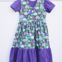 Empire style dress sewing pattern for girls. Whimsy Couture