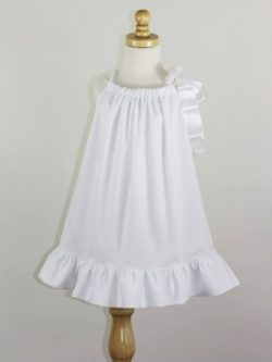 Girls pillowcase dress sewing pattern.