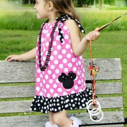 Girls pillowcase dress sewing pattern.