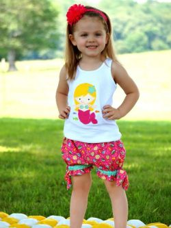 Bow tie shorties sewing pattern by Whimsy Couture