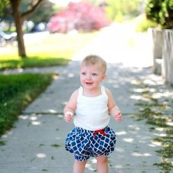 Bubble bloomers sewing pattern by Whimsy Couture