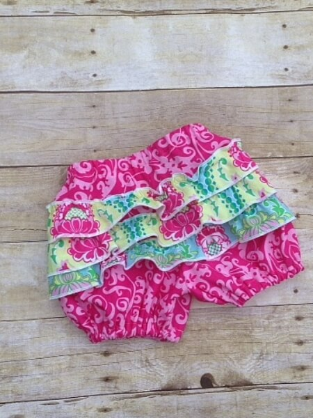 Frilly bloomers sewing pattern by Whimsy Couture