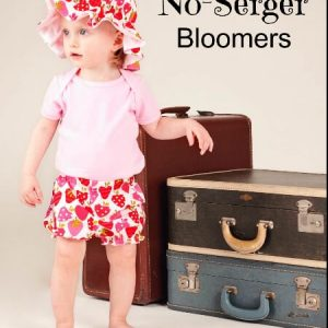 Bloomers sewing pattern by Whimsy Couture