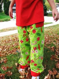 Reversible pants pattern by Whimsy Couture