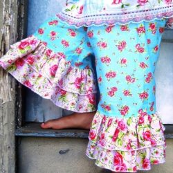 Ruffle Pants sewing pattern by Whimsy Couture