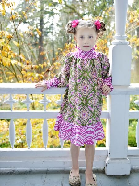 Shirr Sweetness Dress Sewing Pattern by Whimsy Couture