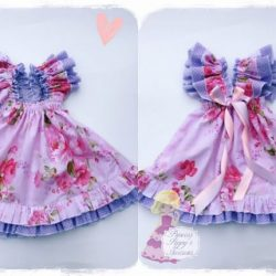 Sweet Baby Doll dress sewing pattern by Whimsy Couture
