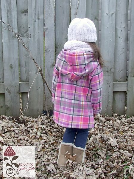 Fleece Hoodie Jacket Sewing Pattern Whimsy Couture