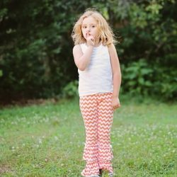 Knit leggings sewing pattern by Whimsy Couture