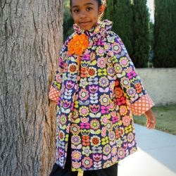 Ruffler Peasant Jacket sewing pattern by Whimsy Couture