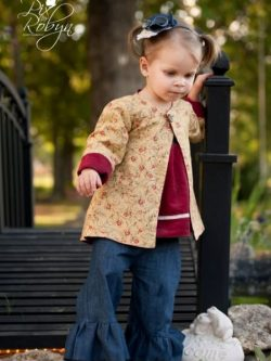 Reversible jacket sewing pattern by Whimsy Couture