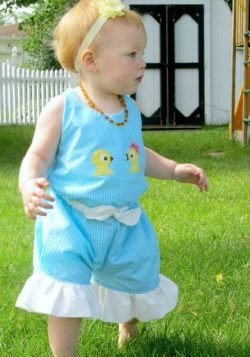 Beach Comber Halter Romper Sewing Pattern Whimsy Couture