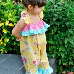 Candy Girl Romper Sewing Pattern Whimsy Couture