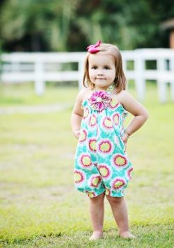 Girls romper sewing pattern by Whimsy Couture (1)