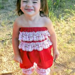 Lacy ruffle petti romper sewing pattern by Whimsy Couture (7)