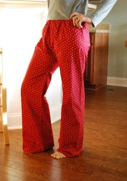 ladies lounge pants sewing pattern by Whimsy Couture