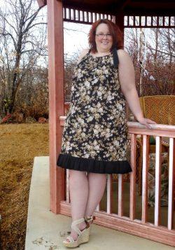 Ladies pillowcase dress sewing pattern