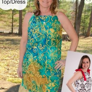 Ladies pillowcase dress sewing pattern