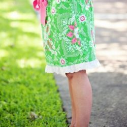 Ladies skirt sewing pattern