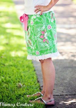 Ladies skirt sewing pattern