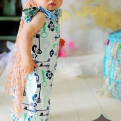 Pillowcase romper sewing pattern by Whimsy Couture