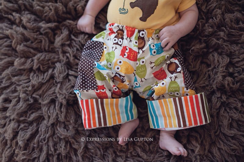 Boys Cuffed Pants Sewing Pattern Whimsy Couture Sewing Patterns