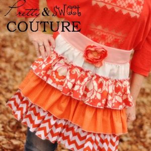 Frilly apron sewing pattern