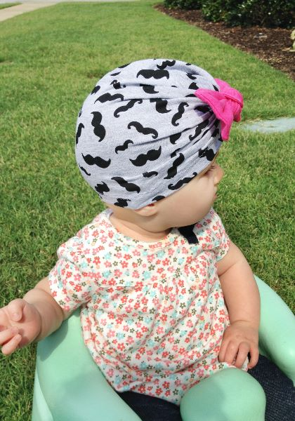 bow turban sewing pattern