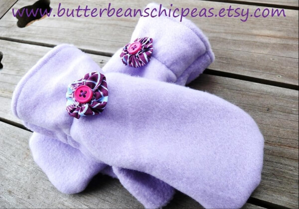 Fleece Mittens Sewing Pattern for Boys Girls - Whimsy Couture Sewing ...