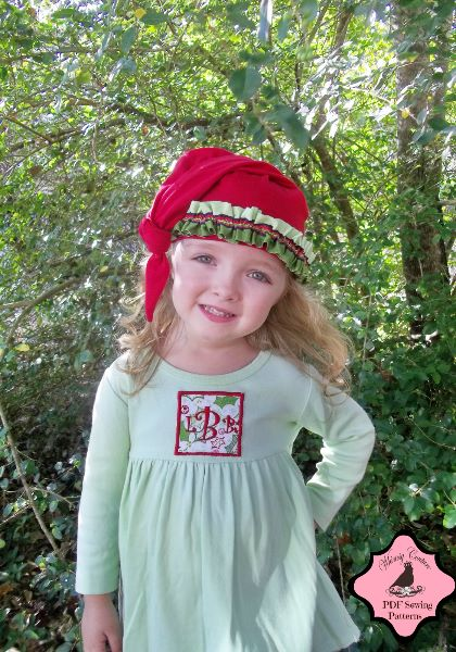 gnome hat sewing pattern