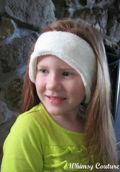 headband ear warmer sewing pattern