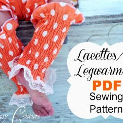Lacettes Legwarmers sewing pattern