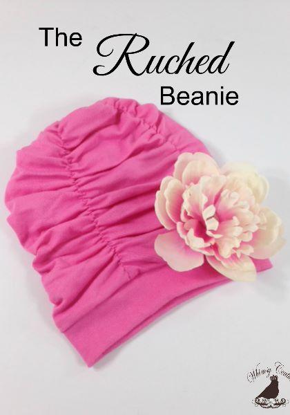 Beanie sewing pattern, Swim Cap Pattern