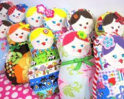 Matroyshka plushie doll sewing pattern