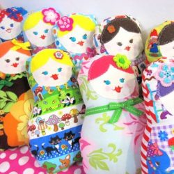 Matroyshka plushie doll sewing pattern