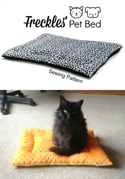 Cat Dog Bed Mat Sewing Pattern