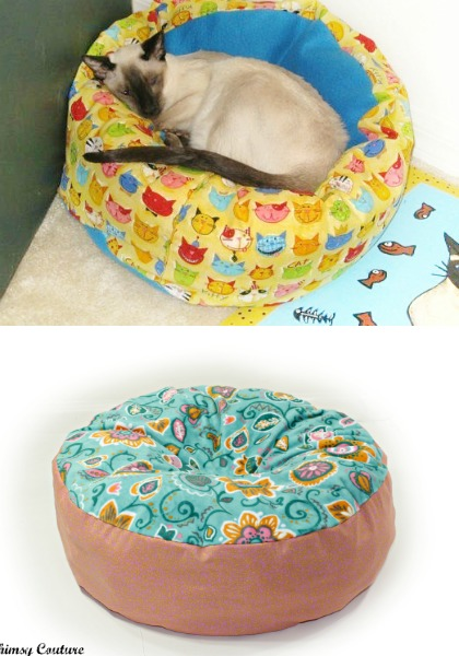 Marshmallow Pet Bed Sewing Pattern - Whimsy Couture Sewing Patterns ...