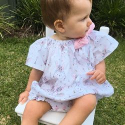 Peasant Playsuit Romper sewing pattern Whimsy Couture