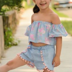 Off shoulder top dress pattern by Whimsy Couture